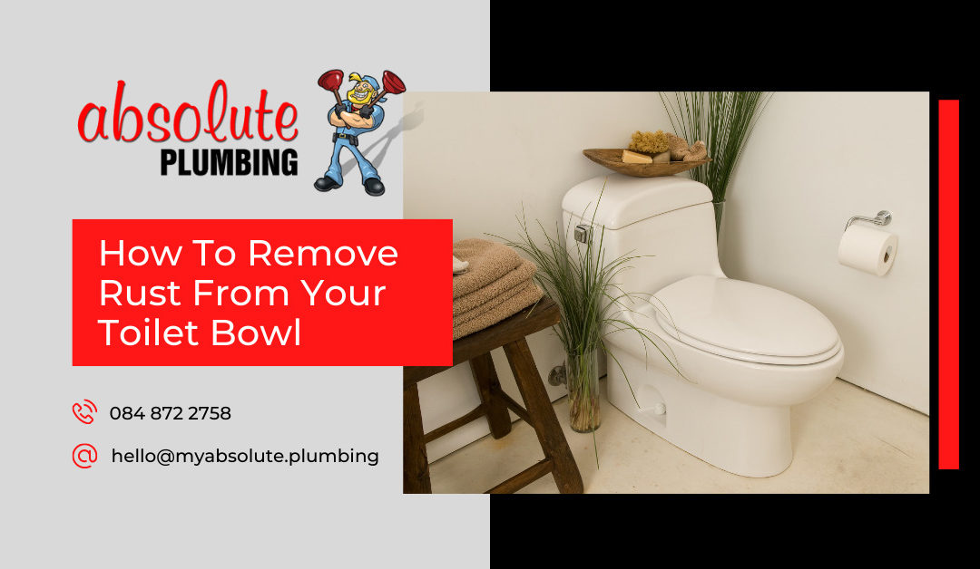 How to remove rust from your toilet bowl